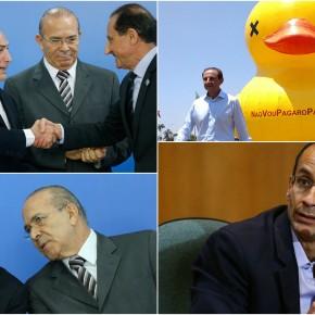 Maestro dos patos, Skaf some com os R$ 6 milhões daOdebrecht