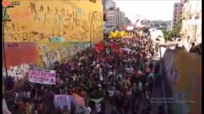 Mais de 35 milhões de brasileiros pararam hoje na Greve Geral! A maior greve da história!(Vídeo)