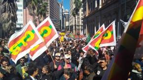 Atos contra a reforma da Previdência e Trabalhista reúnem milhares de pessoas em Porto Alegre: Greve Geral foi a maior  da história doBrasil