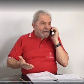 Lula fala a Rádio Povo, do Ceará (Vídeo Gravado aoVivo)