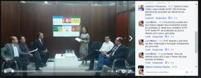 Bancada Estadual do PT faz reunião semanal transmitida ao vivo e aberta  ao debate pelas redes(Vídeo)
