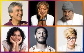 Caetano, Mano Brown, Criolo e artistas se apresentam em ato no Rio por DiretasJá
