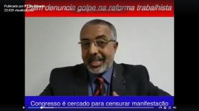 """Em vídeo, Paim Denuncia golpe da """"reforma"""" trabalhista"""