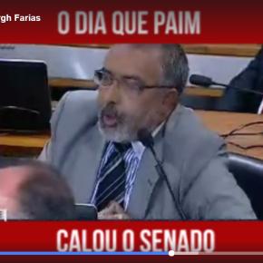 O DIA EM QUE SENADOR PAIM CALOU O SENADO(Vídeo)