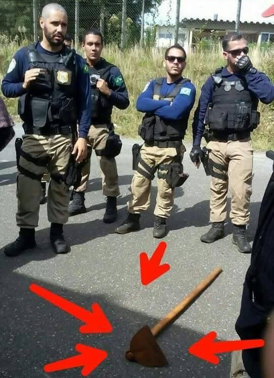 Polícia de curitiba