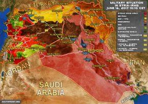 A presença militar de EUA-Reino Unido na Síria contribui para o crescente conflito na fronteira Jordânia-Iraque.