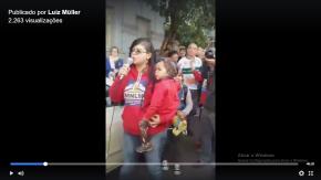 Ato de Desagravo a Deputado e ocupantes agredidos e presos pela Brigada Militar(Vídeo)