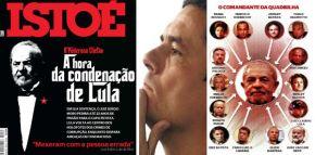 O powerpoint de Moro na Istoé condena Lula a 22 anos deprisão