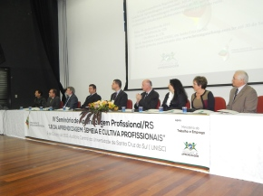 seminário estadual discute em Caxias a aprendizagem profissional no combate ao trabalhoinfantil