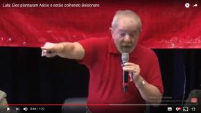 """Lula: """"Eles plantaram Aécio e estão colhendo Bolsonaro"""""""