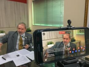 Lula ao fala ao Vivo para a RádioItatiaia(Vídeo)