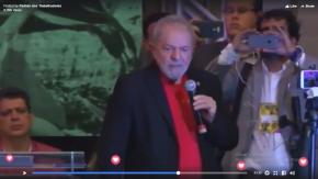 Assista o Discurso de Lula na abertura do 6º Congresso do PT(Vídeo)