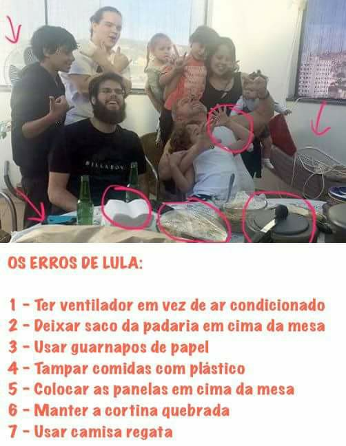 Culpa do Lula