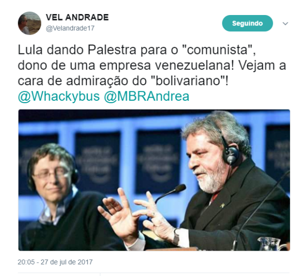 Lula e Bill Gates