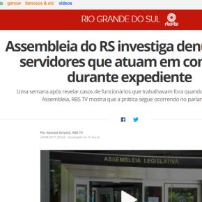 A RBS CRIMINALIZA A POLÍTICA PARA QUE POSSA CONTINUAR MANDANDO NORS