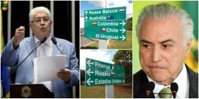Em carta a embaixadores e investidores, Requião avisa que privatizações serão anuladas peloBrasil