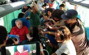 A entrevista de Lula à mídia alternativa que cobre a caravana(Vídeo)