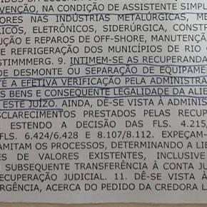 RIO GRANDE: SINDICATO IMPEDE QUE QUE PLATAFORMAS MARÍTIMAS SEJAM VENDIDAS COMOSUCATA