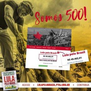 Financiamento Coletivo: Apoie caravanas #LulaPeloBrasil . Clique e saiba comoajudar