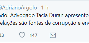 Tacla Duran apresentou provas de que delações são fonte de corrupção e envolve esposa deMoro