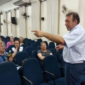 "Aula Pública ministrada pelo Presidente da AFOCEFE-SINDICATO esclarece comunidade sobre ""dívida"" doEstado"