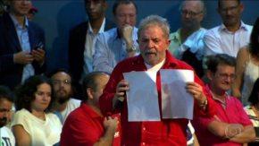 Ex-presidente Lula apresenta recibos originais de aluguéis; perdeu,Moro
