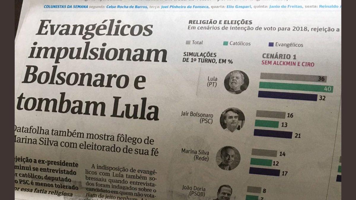 """Em Manchete, Folha de São Paulo """"tomba"""" Lula e derruba ainda mais a credibilidade da mídia golpista — Luíz Müller Blog"""
