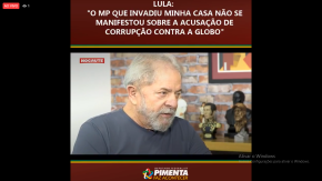 Ao vivo, Entrevista do Lula ao Fernando Morais, do BlogNocaute