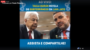 Veja e ouça ao Vivo, o Depoimento de Tacla Duran que vai colocar luz sobre a LavaJato