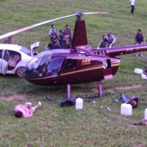 """O caso do """"helipóptero"""" volta a tona com prisão de dono de Fazenda noES"""