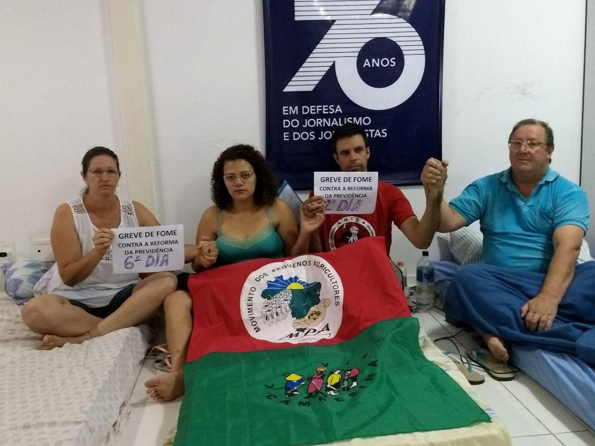 """Suspensão da """"Deforma"""" da Previdência é vitória momentânea. O povo brasileiro precisa ir as ruas"""