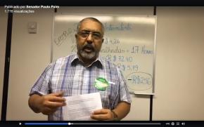 Ao vivo: Paim mostra que recuo do Governo na votação da Previdência é vitória do Movimento dosTrabalhadores