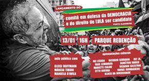 POA em 13/01: Aula Pública sobre Estado de Direito com Márcia Tiburi, Gleisi Hoffmann e Manuela D'Avila naRedenção