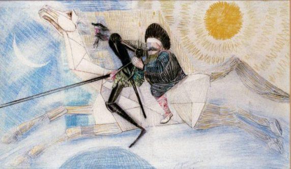 Dom-Quixote-e-Sancho-Pança-no-Cavalo-de-pau-Portinari-1956-696x404