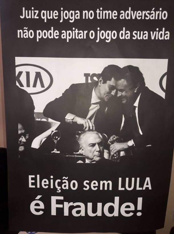 Eleição Sem Lula é Fraude