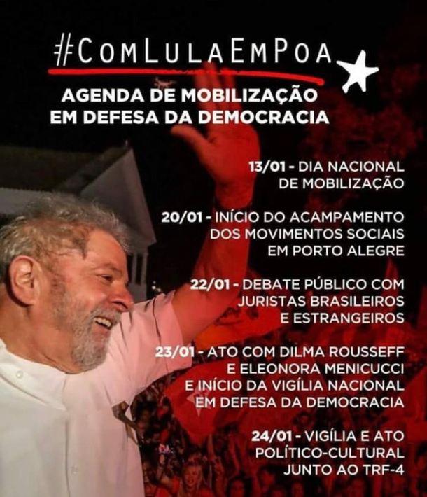 Lula #ocupatrf4