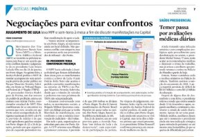 """Depois de proibir direito de ir e vir em Porto Alegre, MPF quer """"negociar"""" direitos garantidos pelaConstituição"""