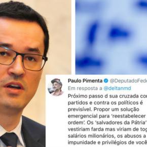 DALLAGNOL ATACA TODA CLASSE POLÍTICA E LEVA TROCO DEPIMENTA