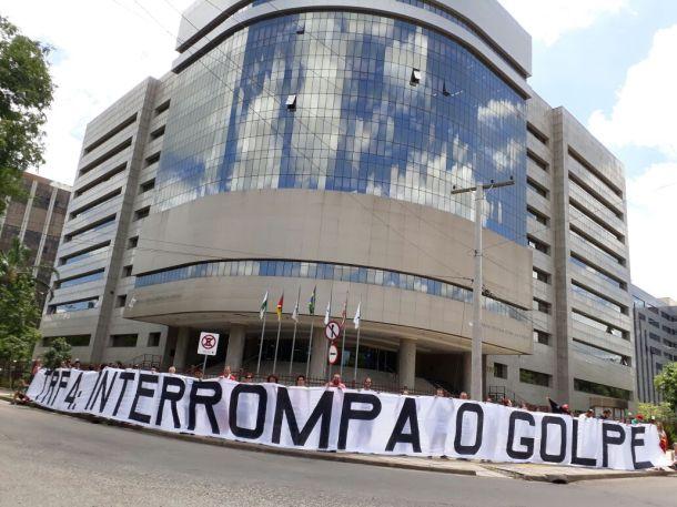 TRF 4 INTRROMPA O GOLPE