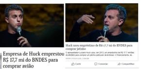 O jato de Huck, a lei e a ética jornalística (Por FernandoBrito)