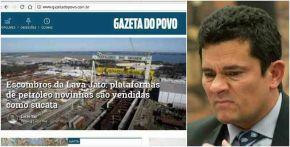 """""""Moro deixou o Brasil em escombros"""", diz jornal deCuritiba"""