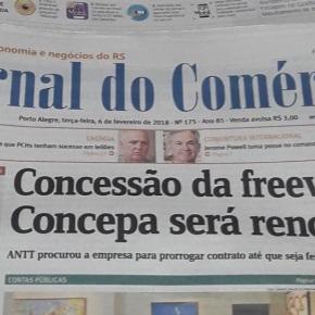 Sem licitação, CONCEPA continua cobrando pedágios da FreeWay. Quem ganha comisto?