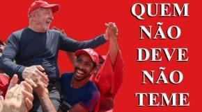 Tranquilidade de Lula impressiona Folha deSP