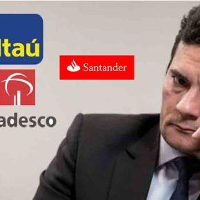 Bancos que pagam jantar em apoio a Moro nos EUA, tiveram dívidas perdoadas por Temer (Tem quedesenhar?)