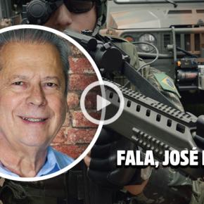 Zé Dirceu: Temer usa as Forças Armadas no Rio com finseleitorais