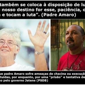 Prisão do Padre Amaro, Substituto de Dorothy Stang, é  perseguição política contra Pastoral daTerra