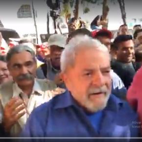 Ao Vivo, Lula em São Borja, terra de Getúlio, Brizola e Jango#LulaPeloBrasil