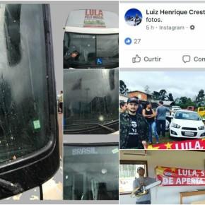 Criminosos atacam caravana de Lula e banalizam o mal com o beneplácito das políciasestaduais