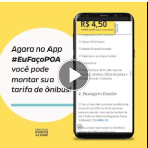 """Prefeitura de Porto Alegre faz aplicativo que """"coloca preço"""" em direitos de idosos, estudantes e cobradores deônibus"""