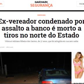 O EX-VEREADOR, O PMDB, A RBS E OS ROUBOS A BANCOS NORS